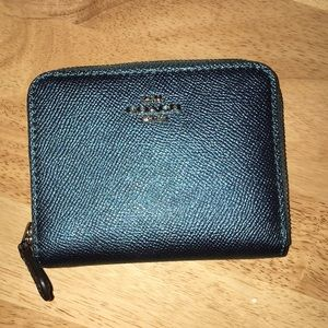 Never used coach wallet